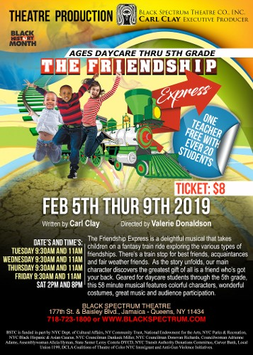 The Friendship Express Thursday February 5th-9th